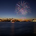 P&O Fireworks over Sydney Harbour by sachman75
