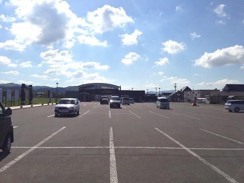 hokkaido-michinoeki-kamiyubetsu-hotspring-spa-of-tulip-parking