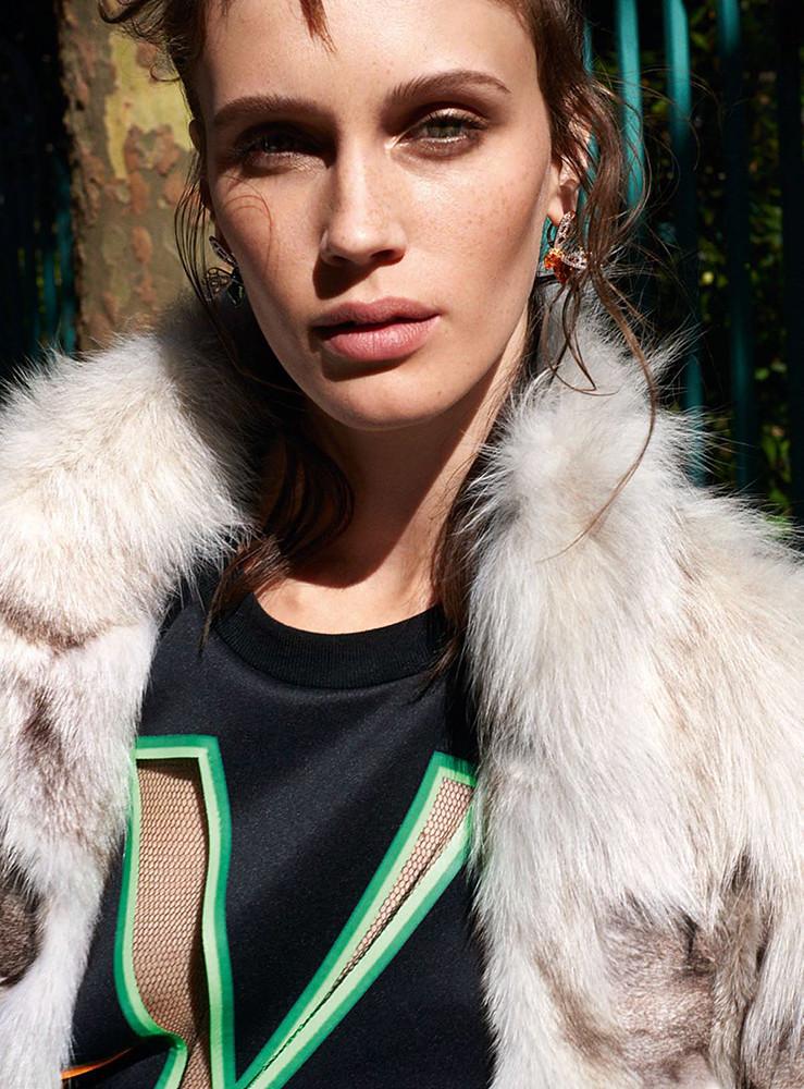 Марина Вакт — Фотосессия для «Vanity Fair» FR 2015 – 3