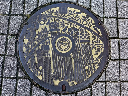 Anjo Aichi, manhole cover 7 (愛知県安城市のマンホール7)