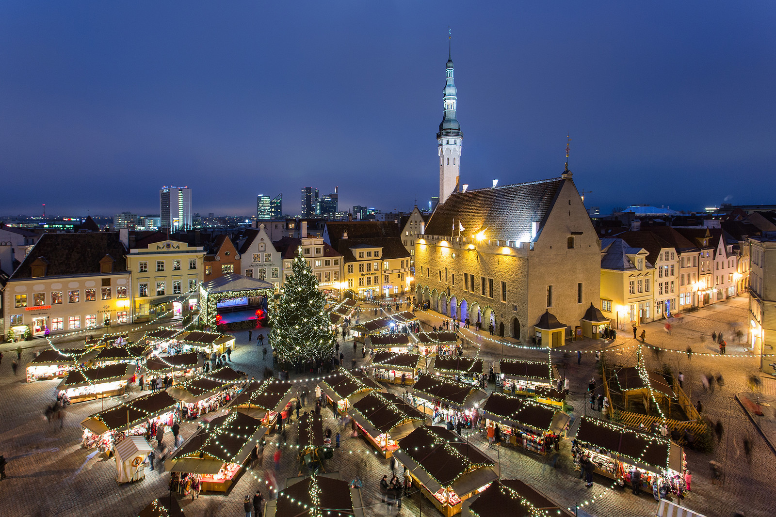 Christmas market at Tallinn, Estonia Credit Sergei Zjuganov