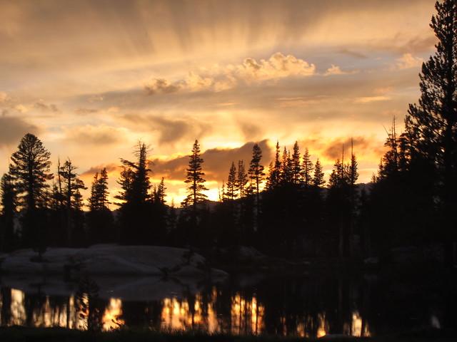 Sunset over Sunrise Lake #2