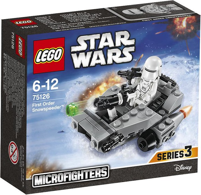 LEGO Star Wars 75126 - First Order Snowspeeder