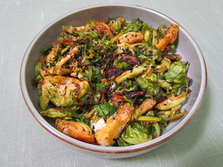Pan-Fried Paprika-Spiced Sprouts