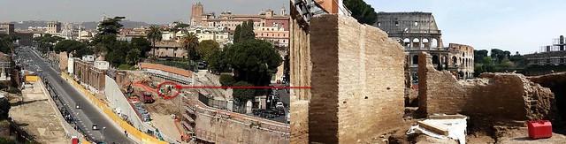 ROMA ARCHEOLOGICA & RESTAURO ARCHITETTURA [aggiornare 11|2015]: Roma Metro C – I danni collateralli degli scavi di Via dei Fori Imperiali & Eliminazione del colle Velia. Roma, Dott.ssa Arch. P. Giannone (26|05|2015) & Roma Metro C (21|04|2015).