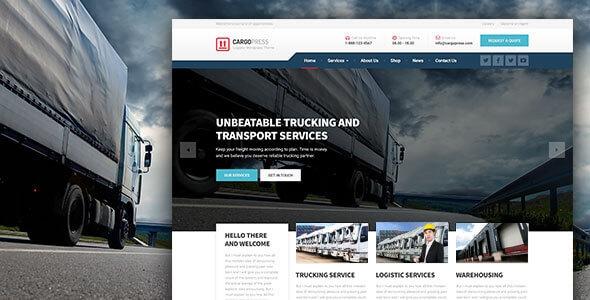 CargoPress v1.10.0 - Logistic, Warehouse & Transport WP