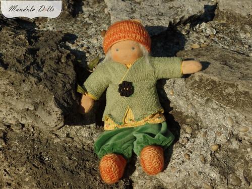 Anna 22cm fabric doll_3