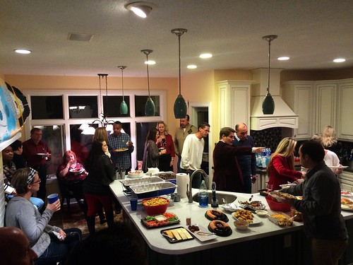 Christmas Party at the Stephen's House (December 7 2014) (2)