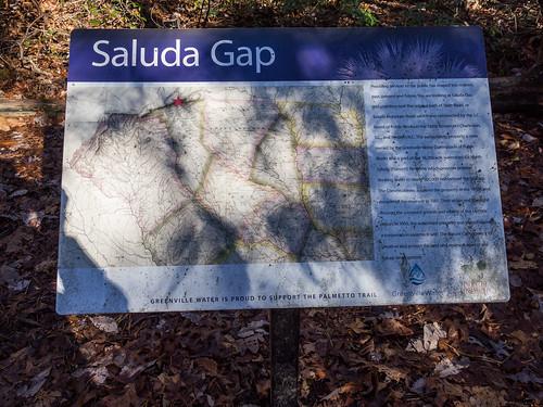Saluda Gap sign