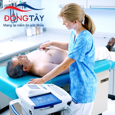 Điện tâm đồ (ECG) thường được sử dụng để chẩn đoán nhịp tim nhanh
