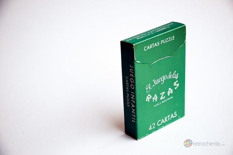 El Juego de las Razas - Editorial Zaragozano - segunda edición - trasera