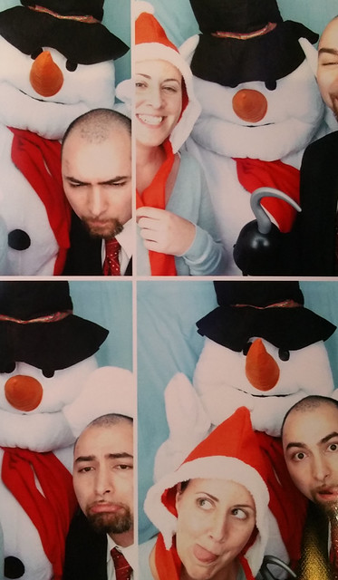 2015.12.15 Holiday photo booth pics