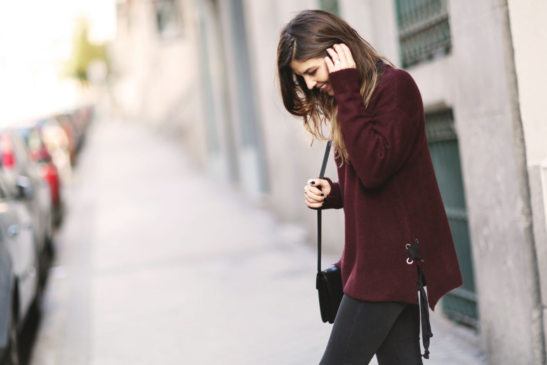 Flares and Burgundy