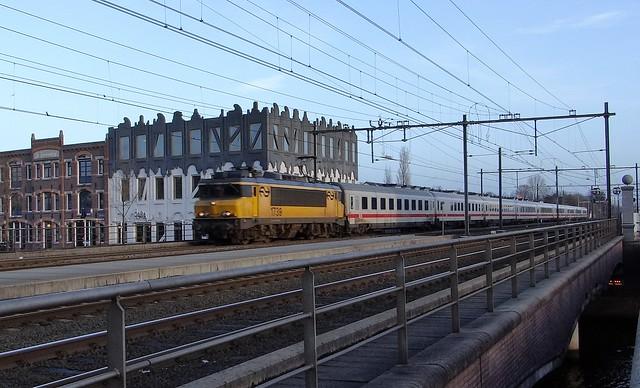 Amersfoort Koppelpoort, IC Berlijn Amsterdam NS 1739 DB amvz