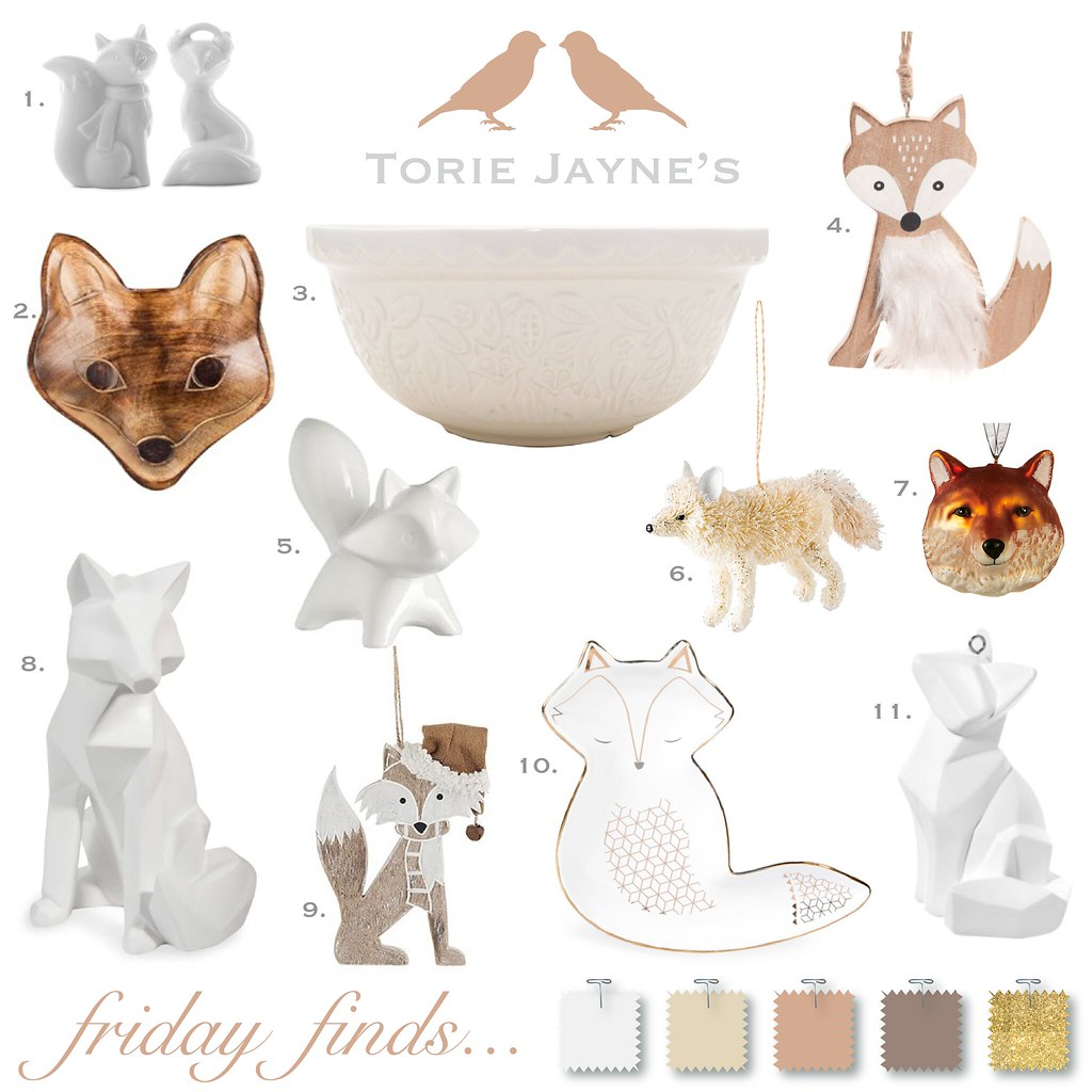 Friday Finds...Foxes