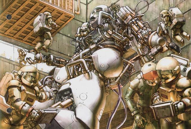 整個戰場都是我的實驗室:鋼彈原型機
