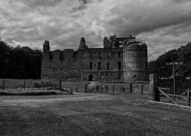 Balvenie Castle .