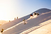 Pulvertraum im November. Grünten Skitour.