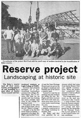 Baker Reserve project - Bunyip 1992 0415