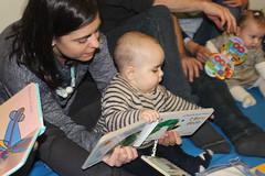 2ª Sesión Bebencontros (0 a 12 meses) na Biblioteca Forum