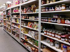 Food-condiment aisle
