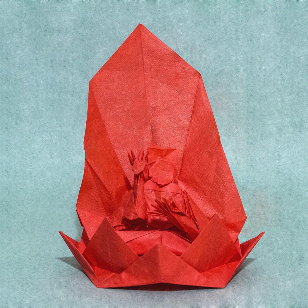 Buddha By Hojyo Takashi By Kevin Hutson Takashi Buddha Origami