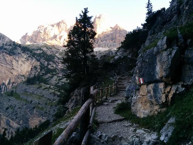 Aufstieg über Stufen