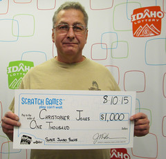 Christopher Jones - $1,000 Super Jumbo Bucks