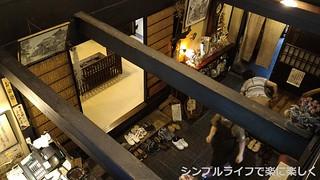 長浜、翼果楼2階から見た入口