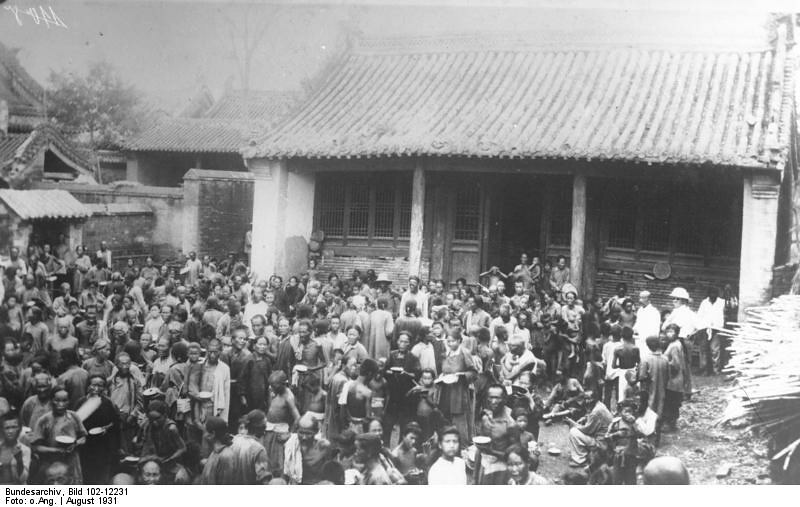 Victims of the 1931 China floods