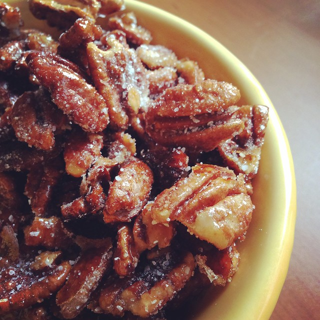 Honey Roasted Pecans Foods August 2015