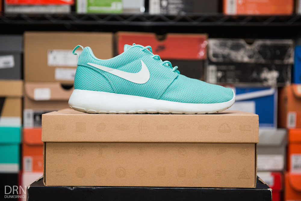 Teal & White Roshe Runs.
