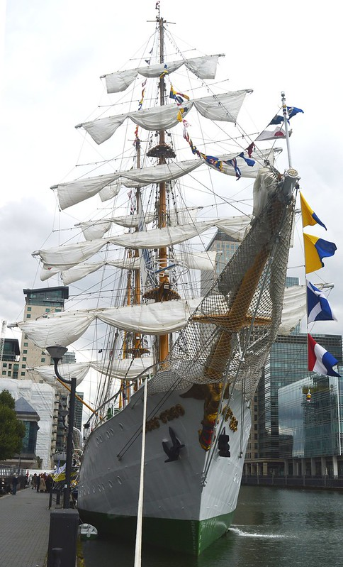 ARC Glloria (4) @ West India Dock 04-09-15