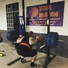 Jake apparently thought he should squat 185 for 3 rounds of 2 because he's not a wuss on a Wednesday. #skwaaatz #strongman #strength #StrongMelbourne #functionalbulk by strongmelbourne