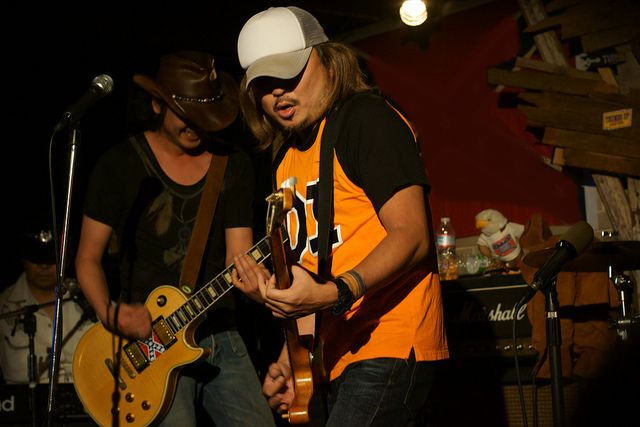 First-AID Spray live at Thumbs Up, Yokohama, 20 Oct 2012. 479 modified