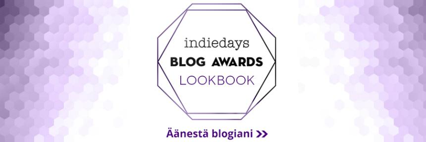 Ehdokasbanneri - Muoti -Indiedays Blog Awards