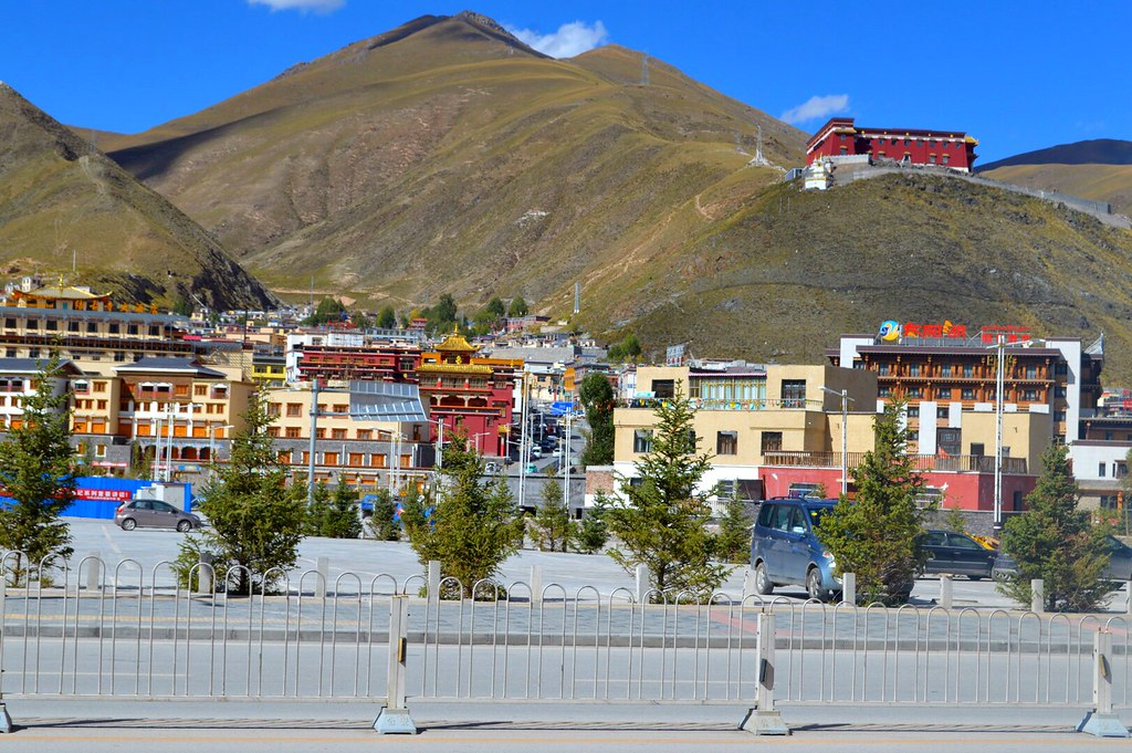 City of Yushu, rebuild after being destroyed by an earthquake in 2010