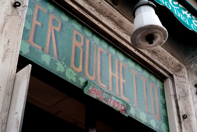 Er Buchetto, Roma