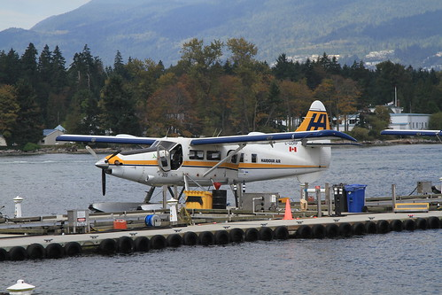 C-GOPP DHC-3 Turbine Otter Harbour Air Vancouver 06-09-15
