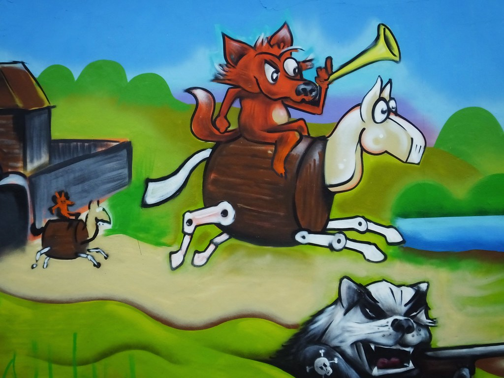 Made in Roath street art by Spk