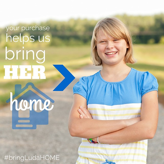 Your purchase helps us bring herHOME!!!