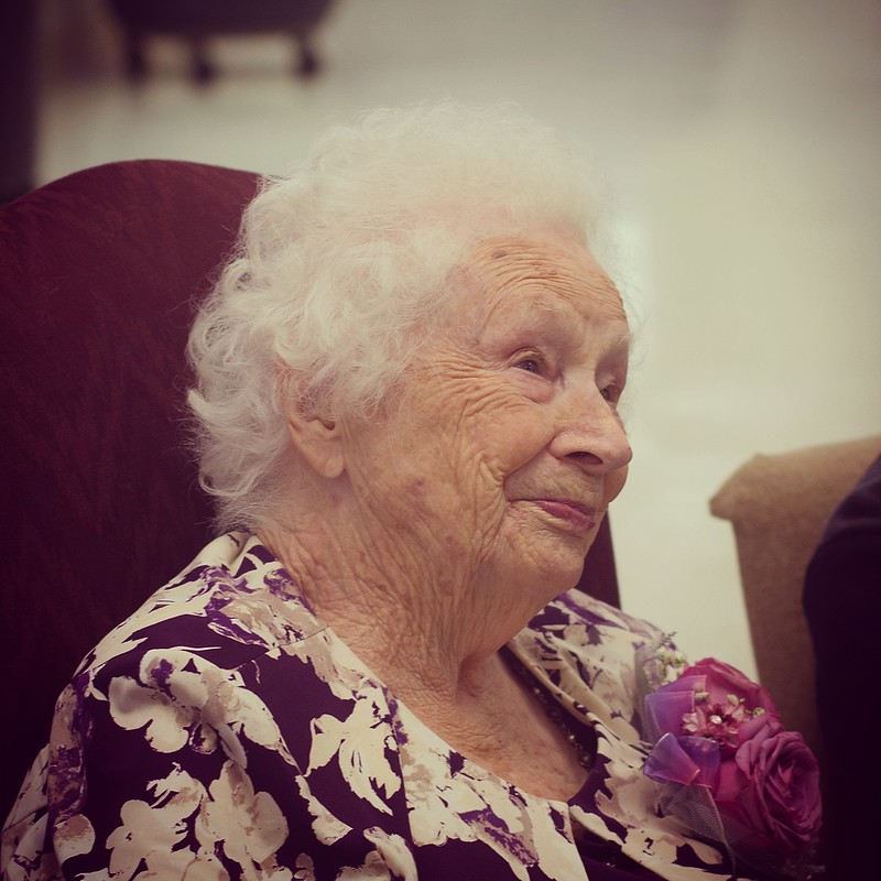 Day 33. Celebrating Grandma Kelso's 100th birthday! 🎂🎈🎉 #100HappyDays