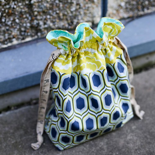 Lined Drawstring Bag