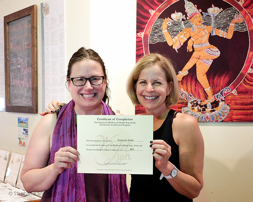 Yoga Teacher Training Certificate 2015
