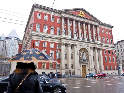 Дожди ожидаются в столице с середины рабочей недели