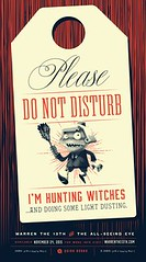 Please Do Not Disturb: I'm Hunting Witches Poster