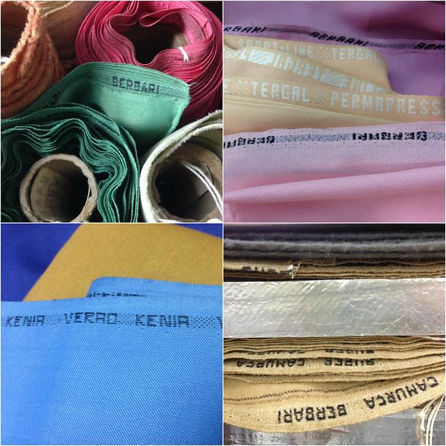 Loja de tecidos finos