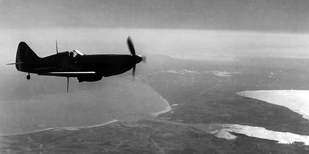 Dewoitine D-520 over Tunisia. Summer 1940.