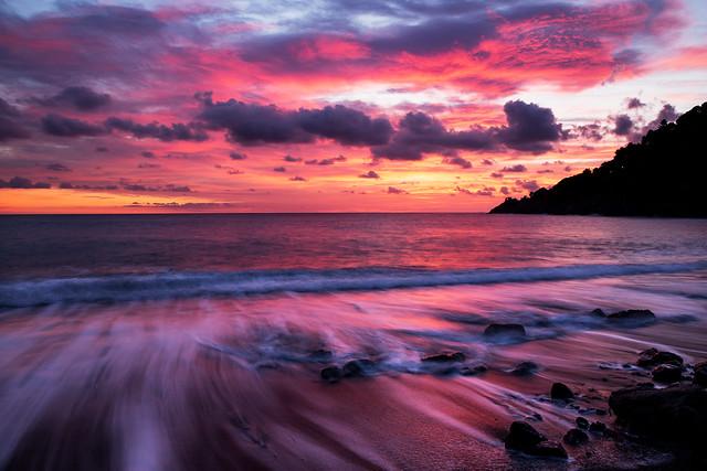 Bonassola sunset