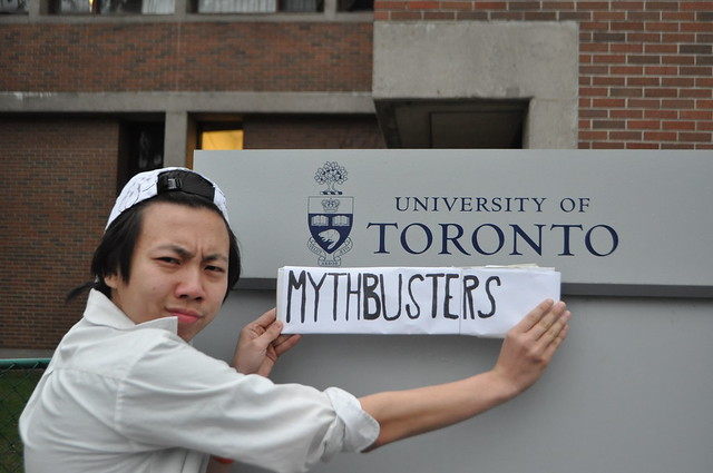 John Leung's MythBusters at U of T